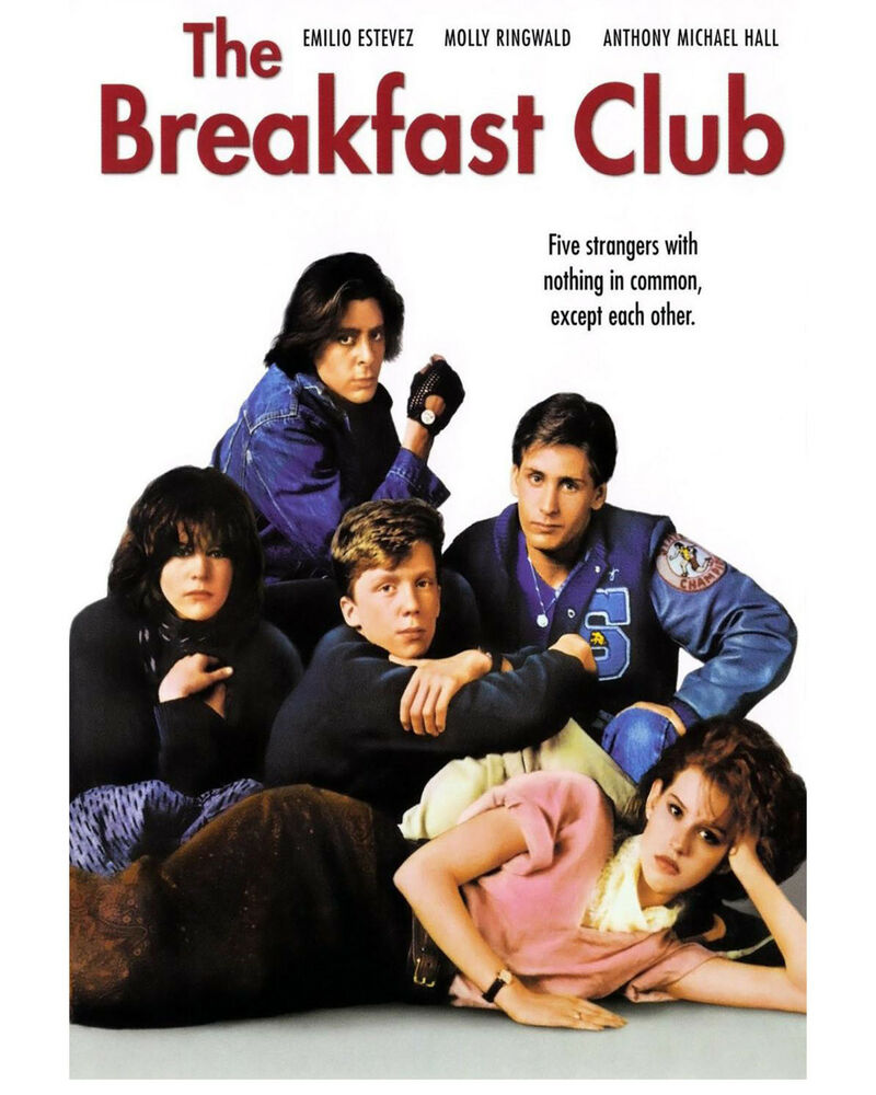 Image result for the breakfast club movie poster