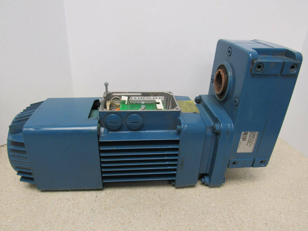 Demag Cranes Components Zbi 80 B 4 B007 Gearbox Motor Assembly Ebay