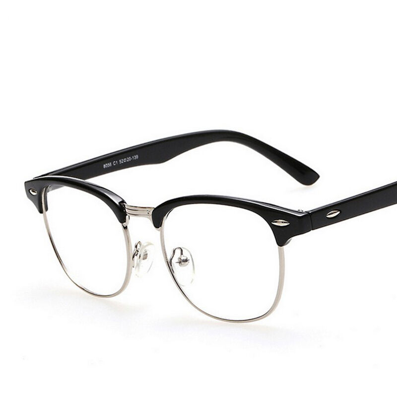 Men Women Eyeglasses Clear Fashion Frame Glasses Lens ...