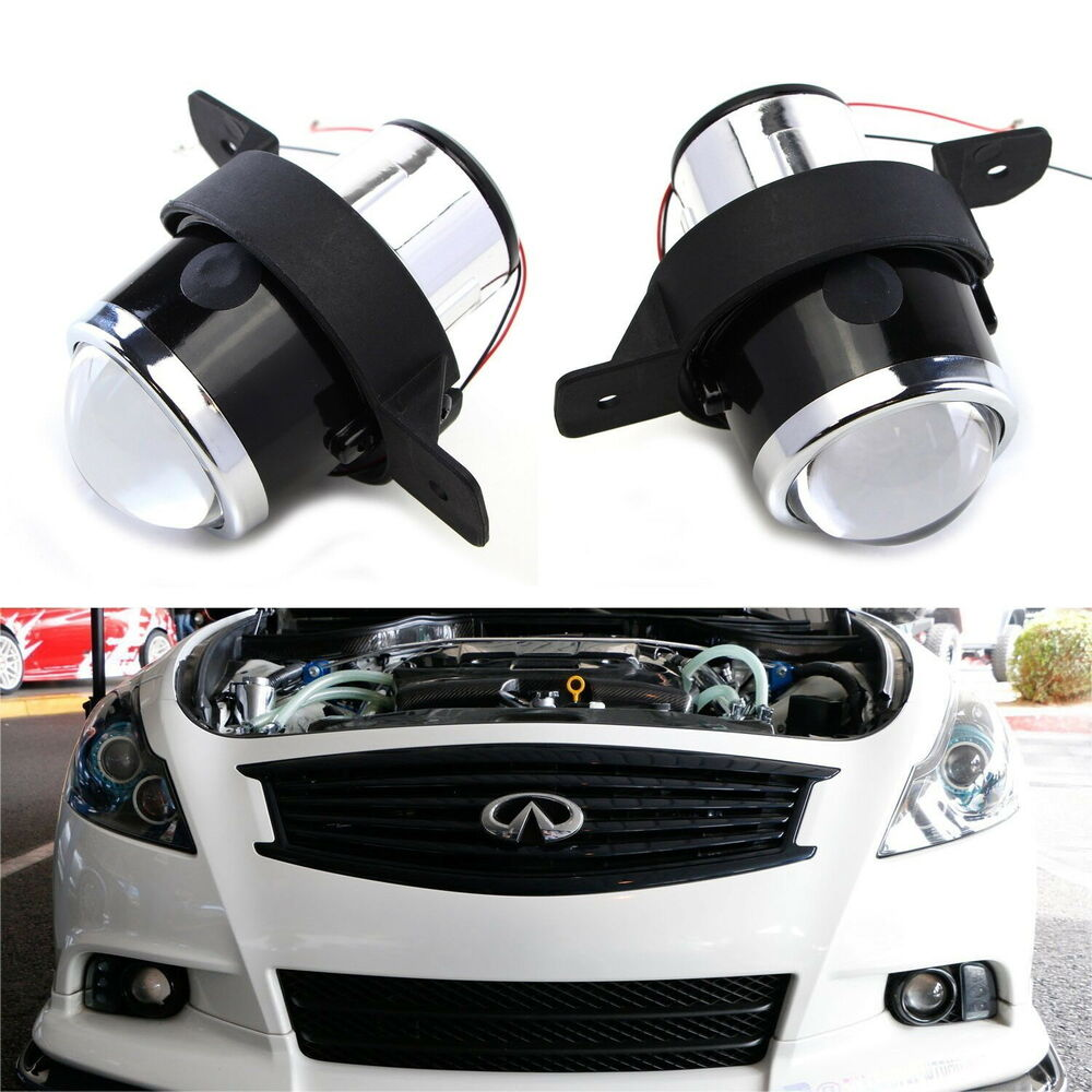 Direct Oem Replacement Projector Fog Lamps For Nissan Infiniti M35 M45 G37 Etc Ebay