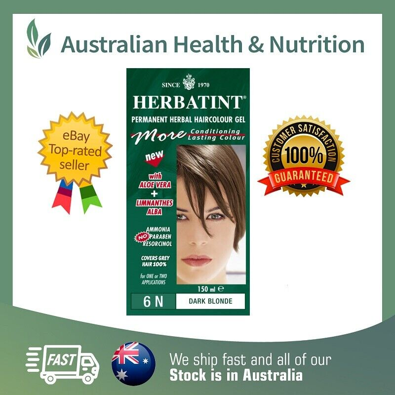 Herbatint Permanent Herbal Hair Colour All Colours Free Shipping