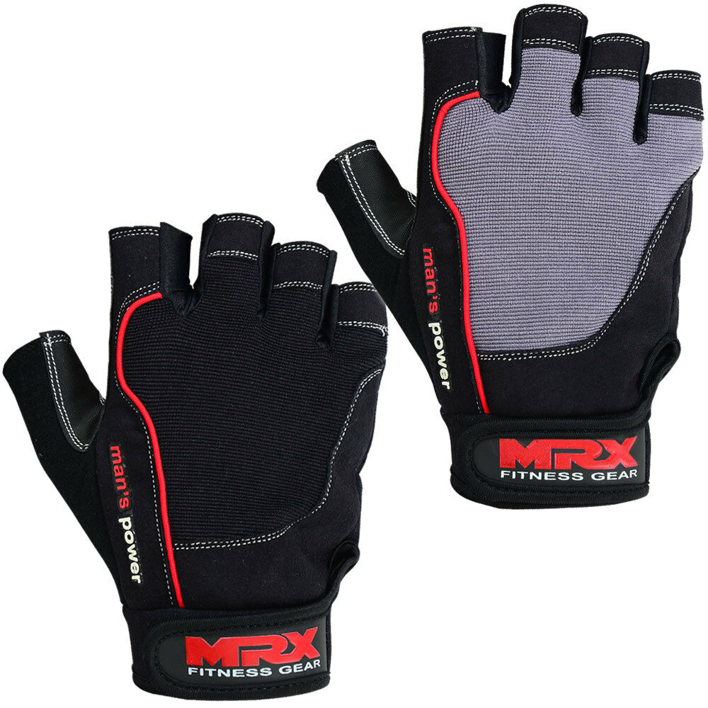 Reebok Strength Training Gloves Weight Lifting Fitness: NEW Weight Lifting Gloves Bodybuilding Gym Training Men's