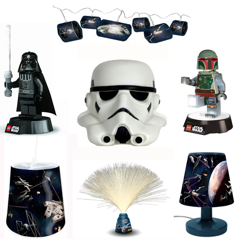 star wars lighting night light ceiling shade torch lamp. Black Bedroom Furniture Sets. Home Design Ideas