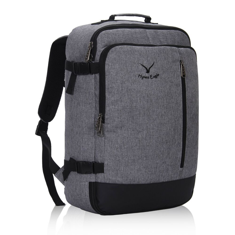 Flight Approved Carry On Backpack Convertible Hand Luggage
