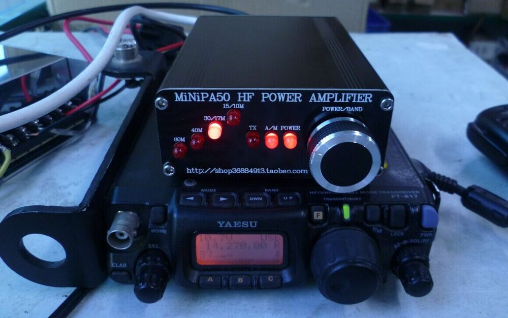 minipa50 hf power amplifier 45w for yaseu ham radio kx3 ic 703 769471834896 ebay. Black Bedroom Furniture Sets. Home Design Ideas