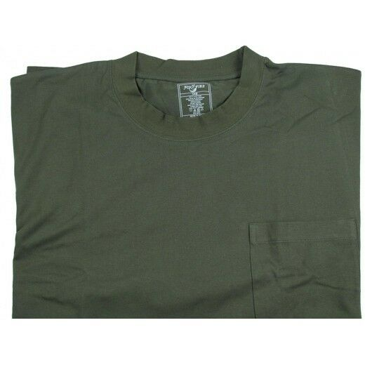 Foxfire k490 men 39 s workwear pocket short sleeve t shirt for Big and tall quick dry shirts