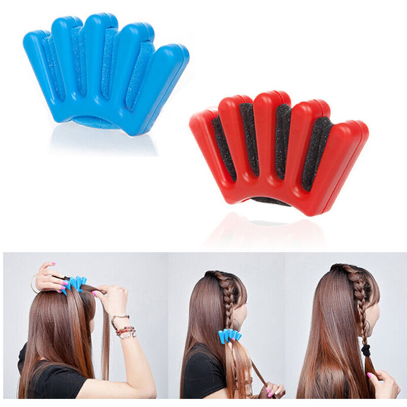 hair styling tools set sponge hair braider plait twist styling braiding machine 5819 | s l1000