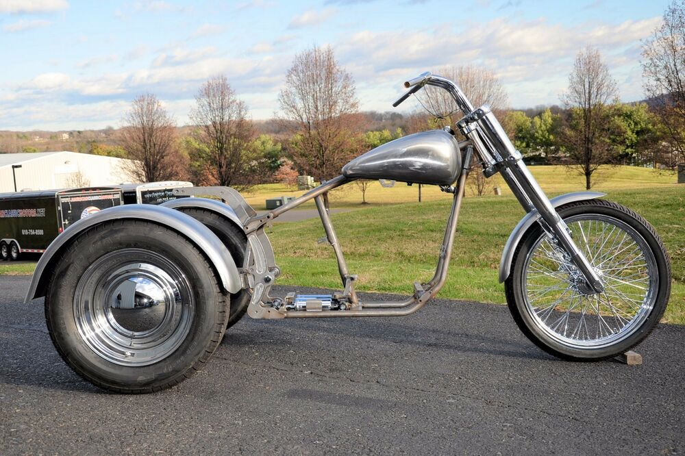 Trike Softail Bobber Chopper Frame Rolling Chassis Roller
