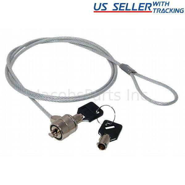 Laptop Cable Lock : New security laptop notebook cable chain lock w keys ebay