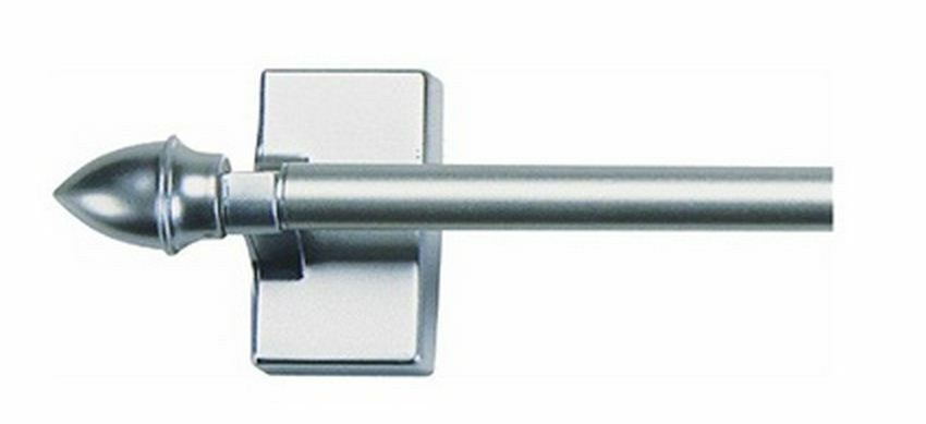 Levolor W7004213102 Magnetic Cafe Rod 16 Quot To 28 Quot Satin