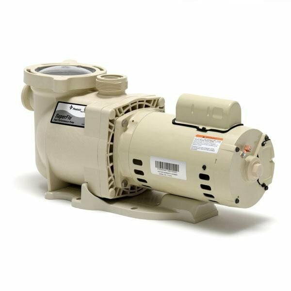 Pentair 340039 superflo 1 1 2 hp swimming pool pump 115 for 1 2 hp pool motor