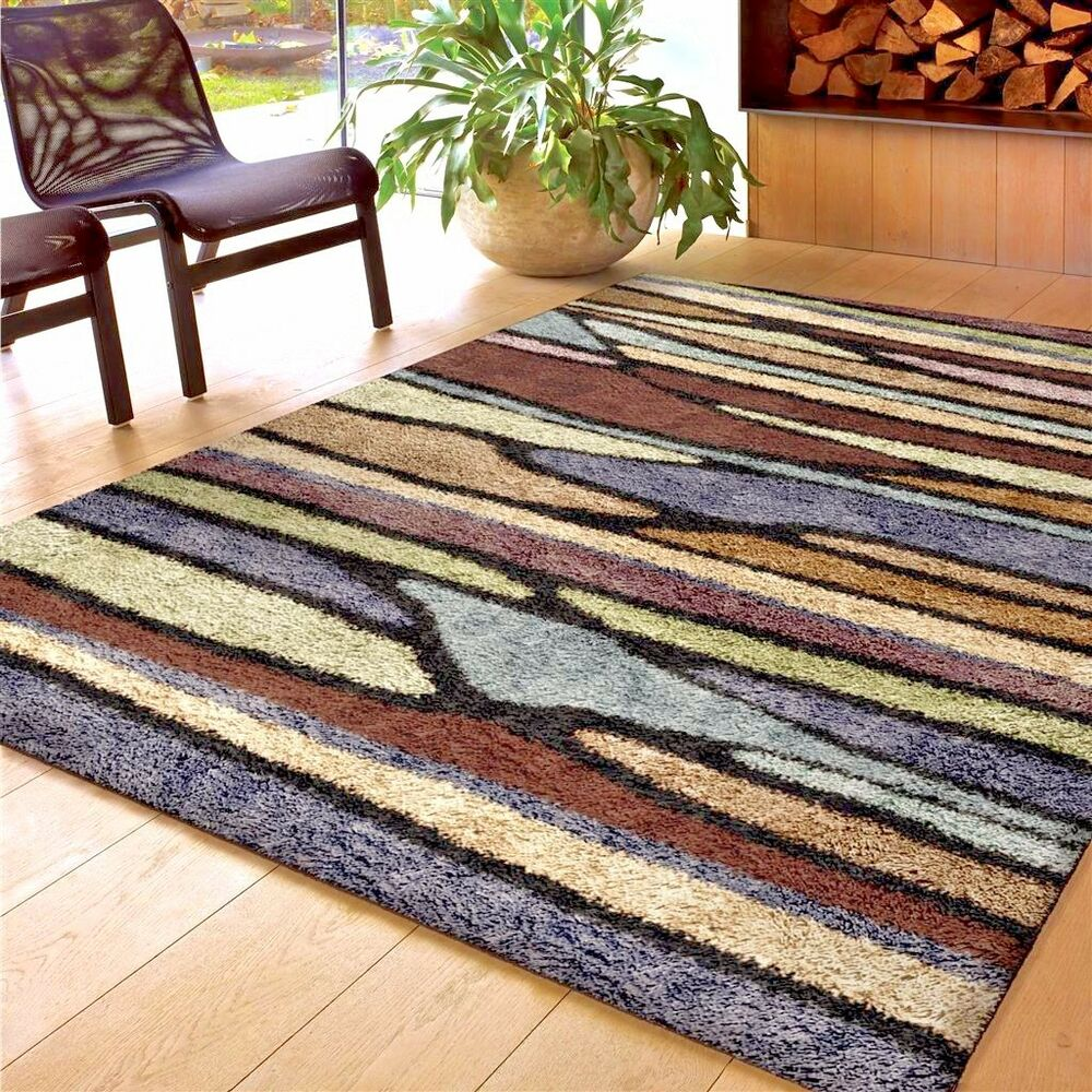 Rugs area rugs carpet flooring area rug home decor modern shag rugs sale new ebay - Home decorators carpet paint ...