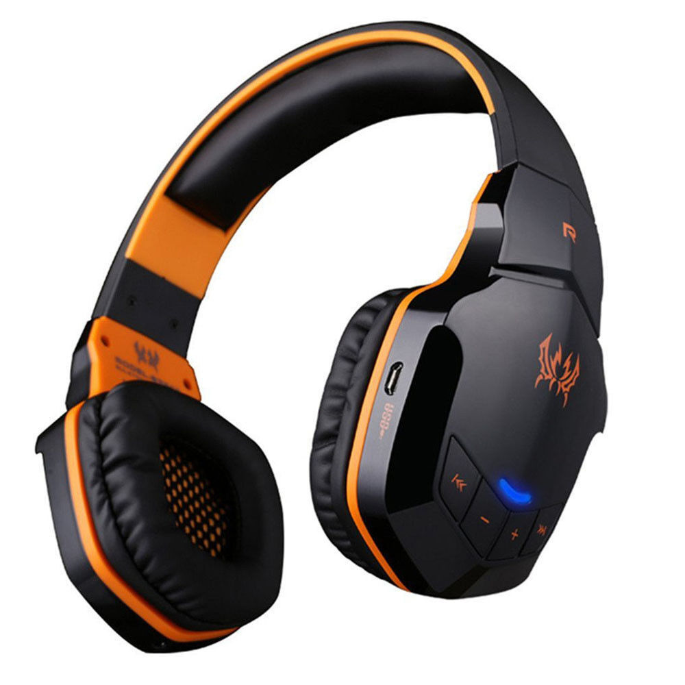 each wireless bluetooth stereo gaming headset b3505 for. Black Bedroom Furniture Sets. Home Design Ideas