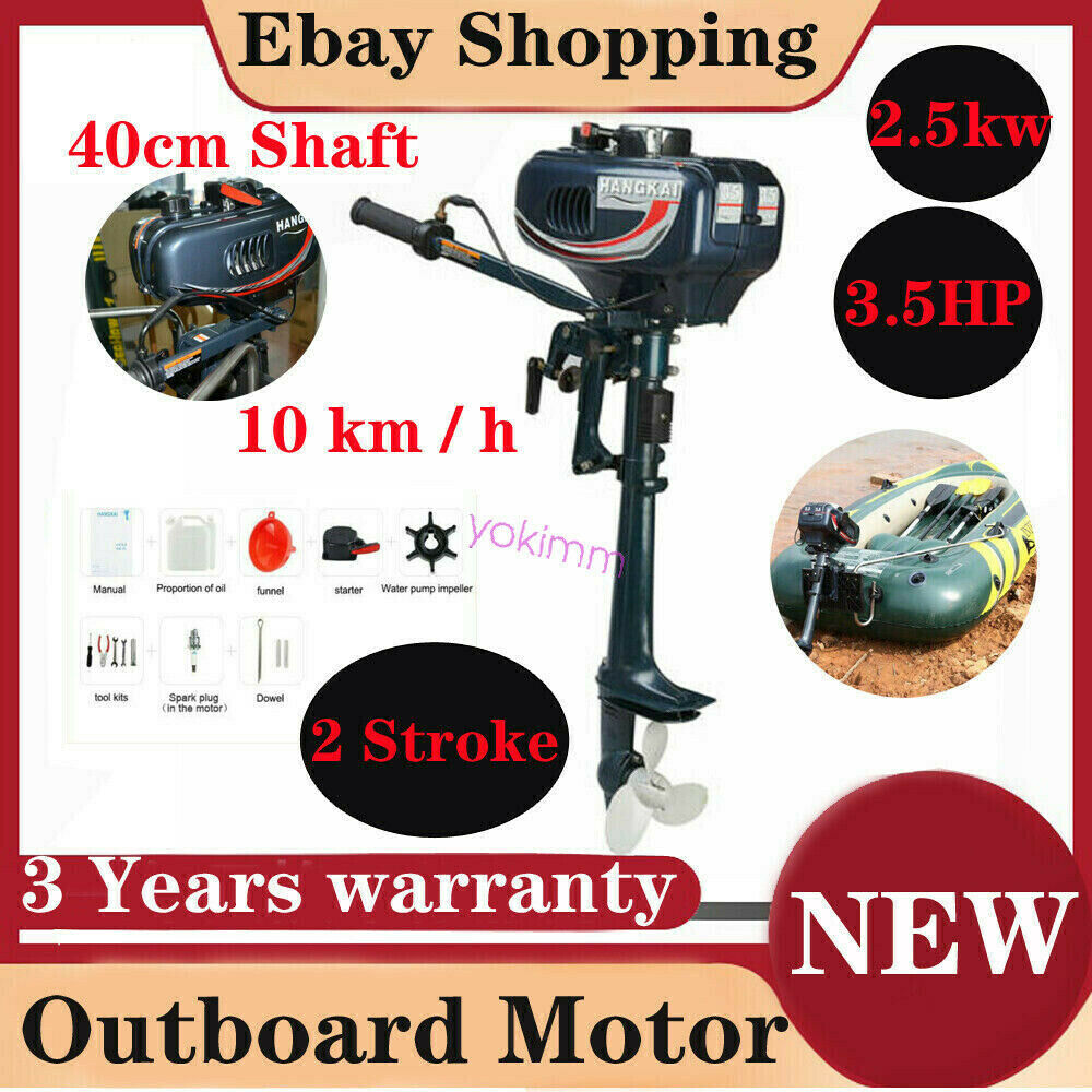 2 stroke 3 5hp superior engine outboard motor inflatable Two stroke outboard motors