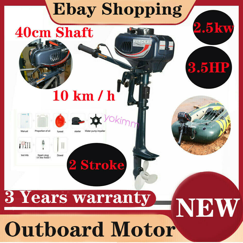 2 Stroke 3 5hp Superior Engine Outboard Motor Inflatable