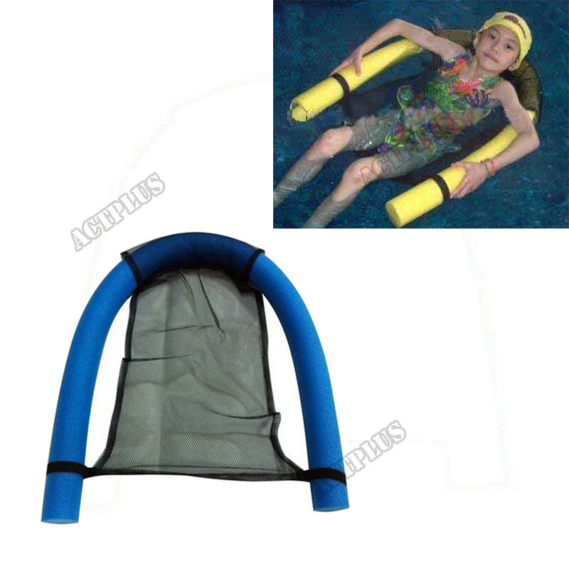 135x7cm water floating chair noodle adult kid children swimming pool seats new ebay for Swimming pool noodle fun chair