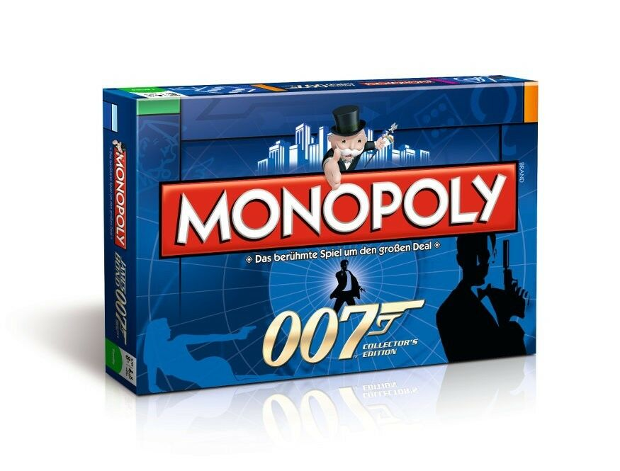 original monopoly 007 james bond collector 39 s sonder. Black Bedroom Furniture Sets. Home Design Ideas