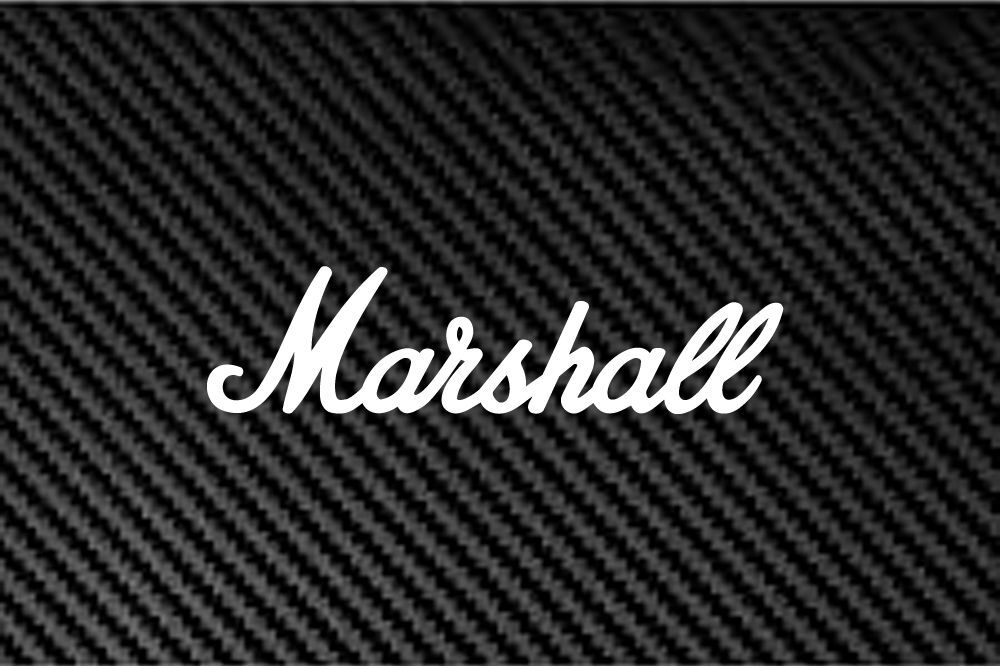 Marshall Amp Amplifier Decal Sticker Car Suv Laptop