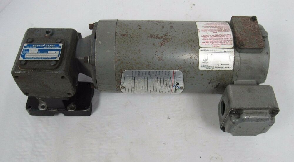 Boston Gear Apm933at B Dc Motor Ebay