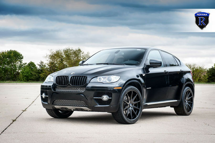 22x10 5 42 Rohana Rc10 22x10 5 Matte Black Wheels Bmw X6