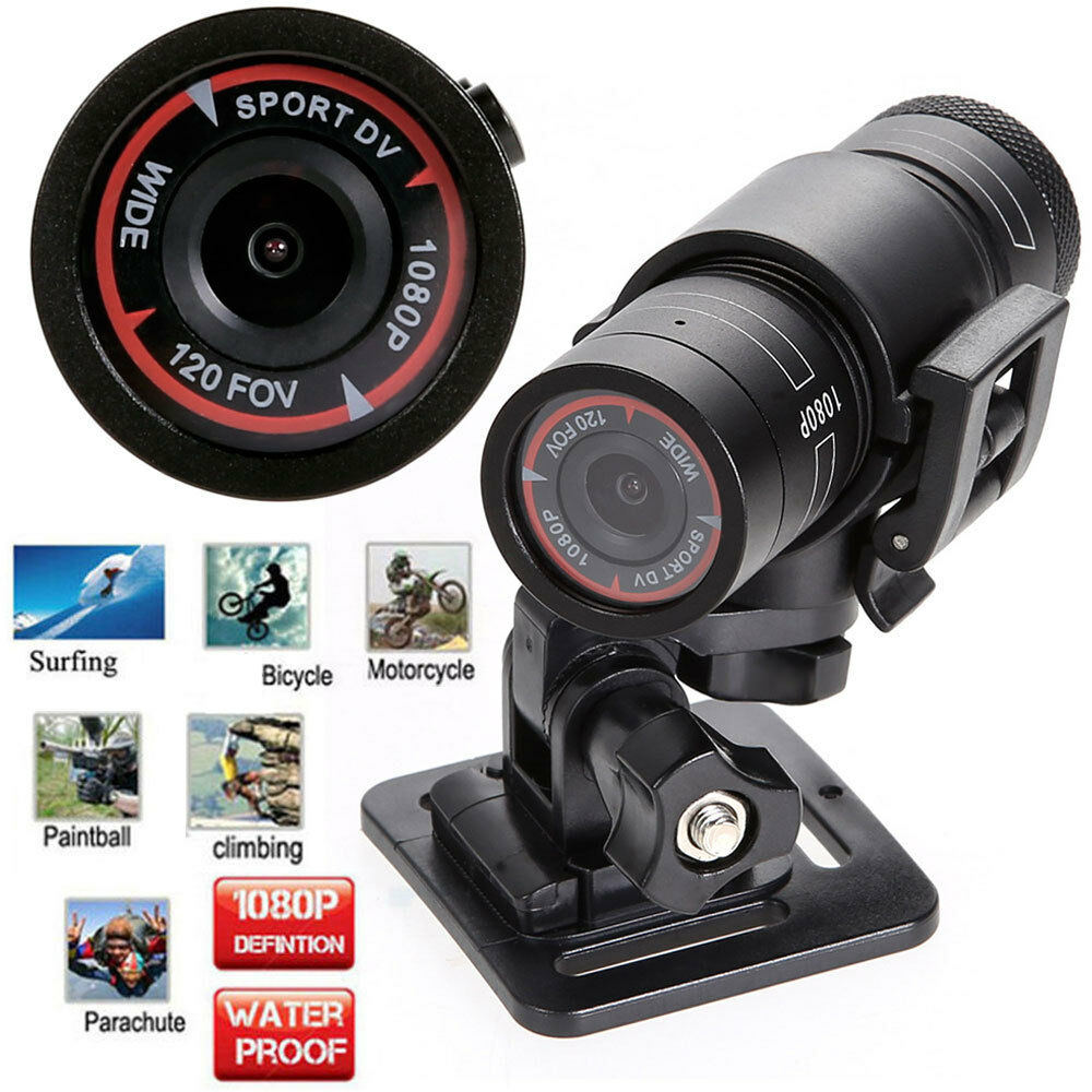 1080p waterproof full hd sports action camera bike helmet dvr video cam holder ebay. Black Bedroom Furniture Sets. Home Design Ideas