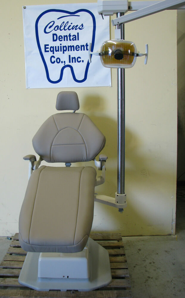 A Dec Decade Dental Patient Chair W New Upholstery