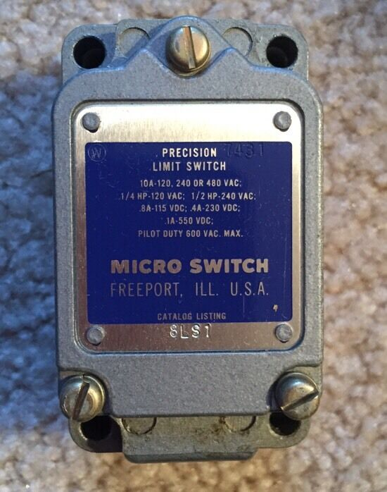Micro Switch 8ls1 Precision Limit Switch Ebay