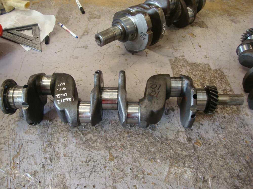 Ford 801 Parts : Ford tractor reman diesel crankshaft bore naa