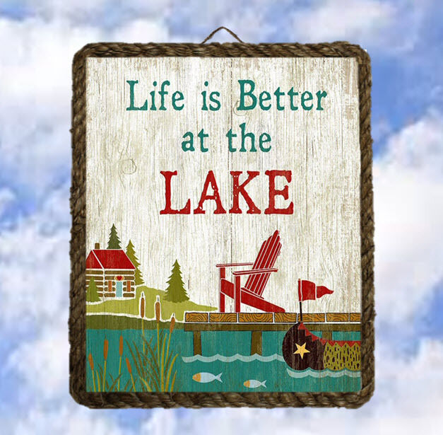 Lake Home Decor: Lake1 Lake House Boat Gifts Wall Decor Art Prints Plaques