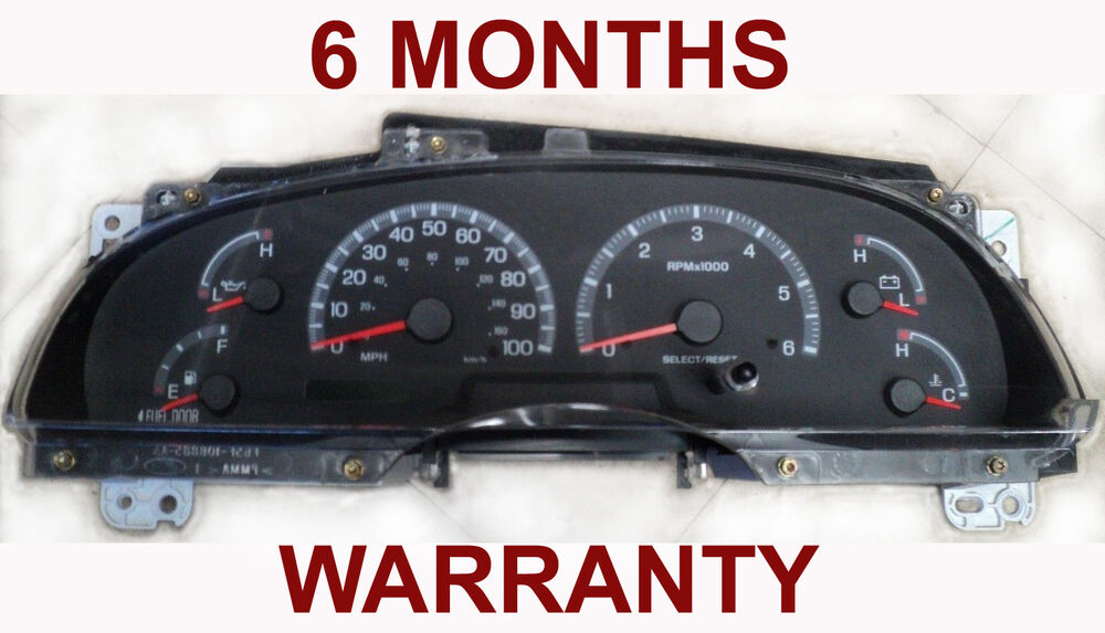 Ford F150 Truck Accessories >> 99 00 01 02 Ford F150 Pickup / Expedition Instrument ...