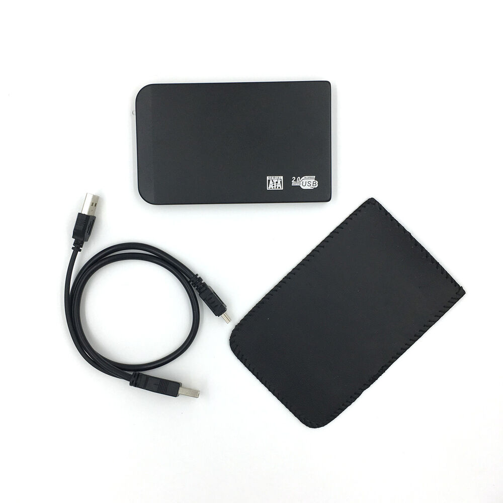New 120gb external portable 2 5 usb hard drive hdd with - Porta hard disk esterno 2 5 ...
