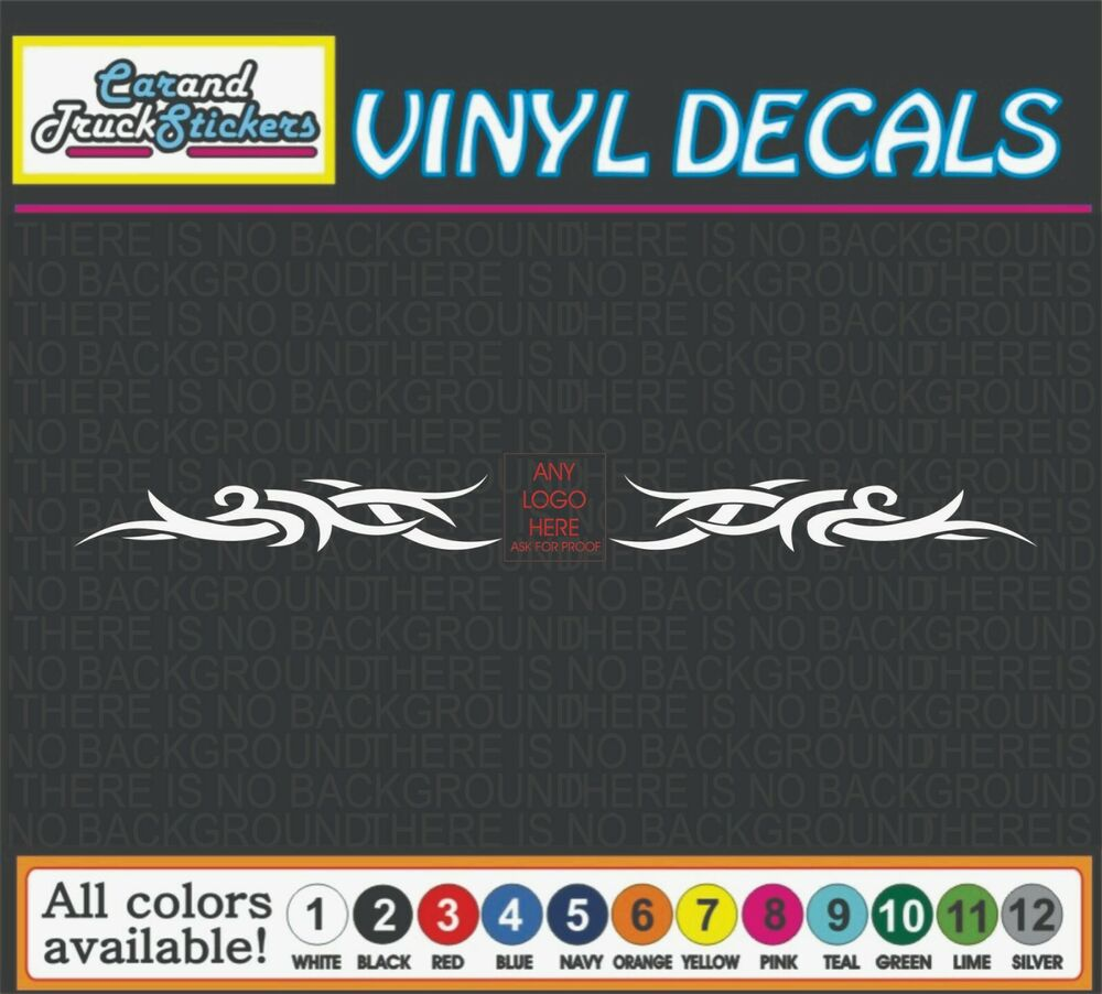 "Muscle Car Decals >> 44"" Dodge Ram Head Hemi Tribal Windshield Decal Vinyl Decal Car Window Sticker 