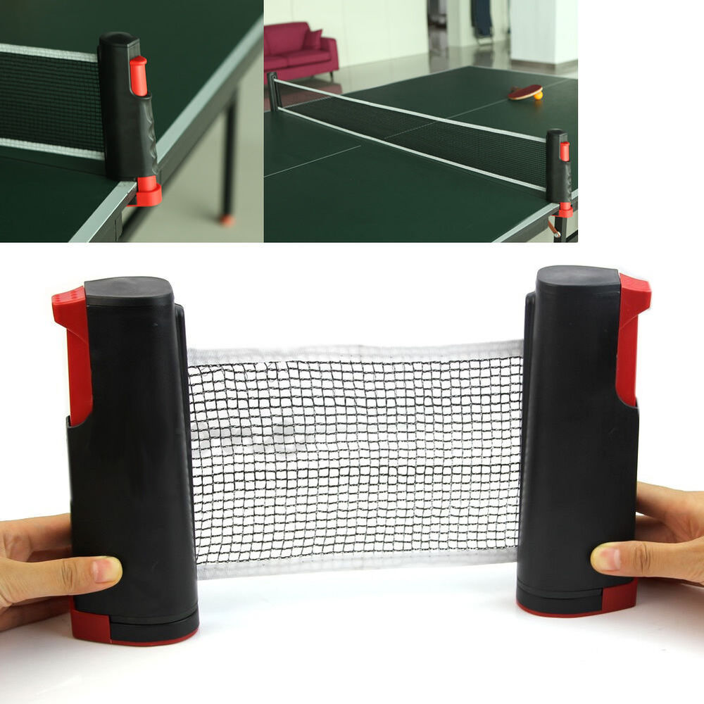 New Games Retractable Table Tennis Ping Pong Portable Net