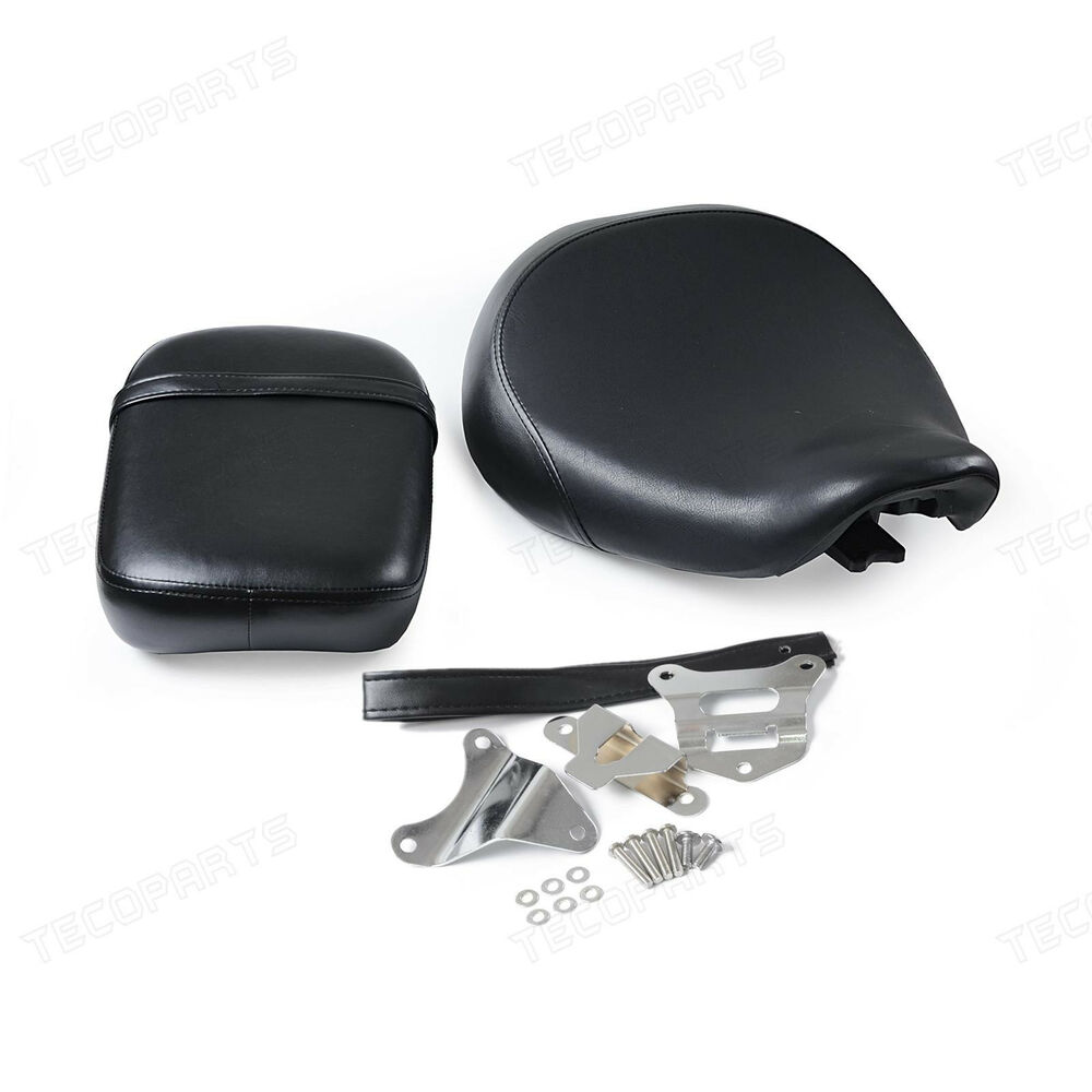 motorcycle front amp rear passenger seat for honda shadow