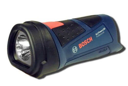 bosch led akku taschenlampe gli 10 8v blau powerled ebay. Black Bedroom Furniture Sets. Home Design Ideas