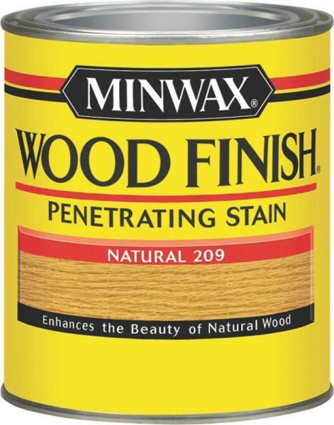 NEW MINWAX NATURAL QUART INTERIOR OIL BASED WOOD FINISH STAIN 8964983 691045199967