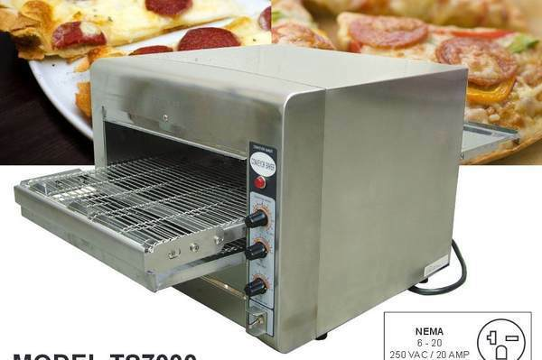 Fusion Commercial Countertop Pizza Oven : ... Conveyor Commercial Countertop 14