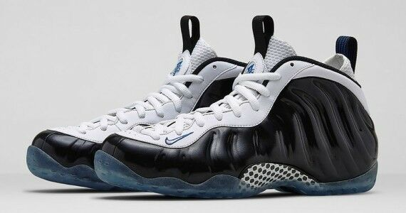 Details about Nike Air Foamposite One Concord Black White Game Royal  314996-005 ce127a213d