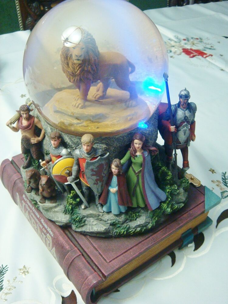 The Chronicles Of Narnia Snow Globe By Disney Musical Box