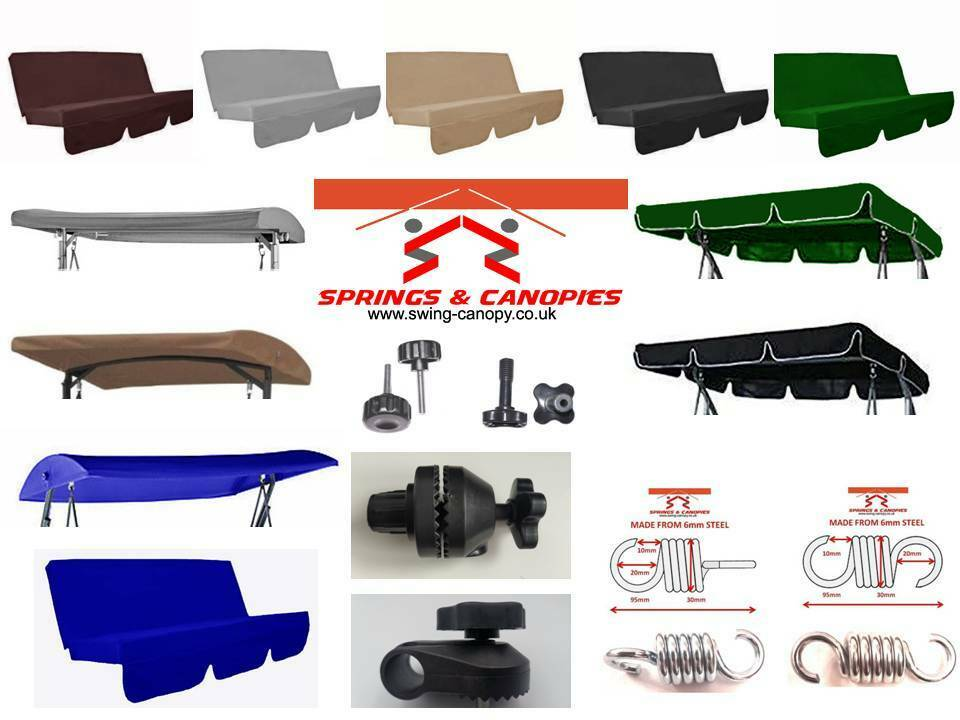 Garden swing Spare parts replacement canopy & springs ...