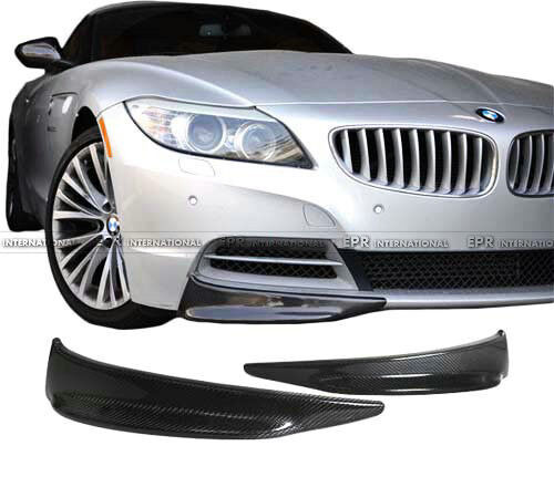 Bmw Z4 Splitter: New 2Pcs Front Bumper Lip Splitter For BMW E89 Z4 Carbon
