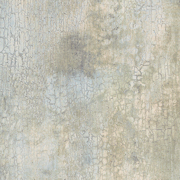 Blue Green Cream Beige Faux Crackle Wallpaper KB20225 ...
