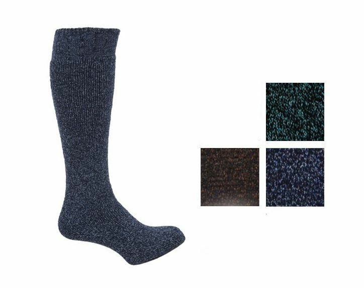 1 pair mens wool blend cushioned thermal winter wellington