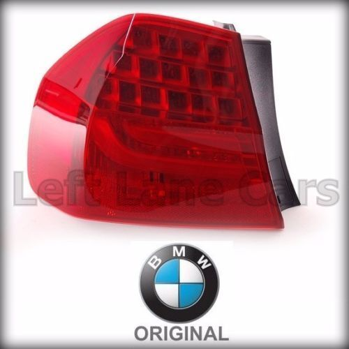 genuine bmw e90 lci left outer led tail lamp light 328i. Black Bedroom Furniture Sets. Home Design Ideas