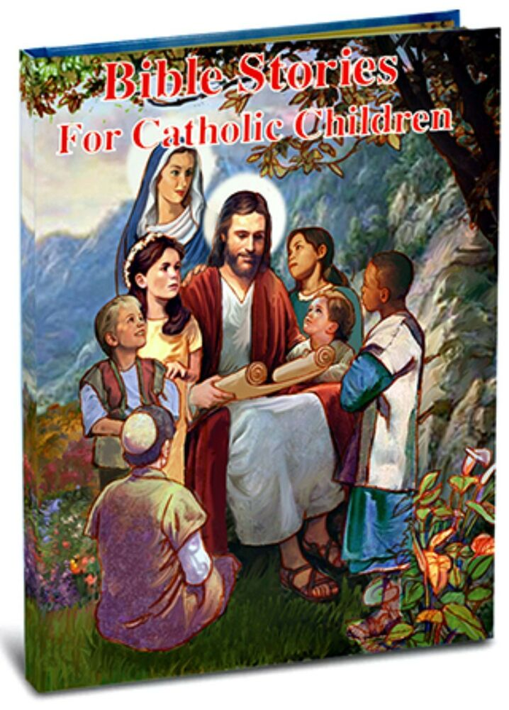 Bible Stories for Catholic Children Hardcover Book NEW ...