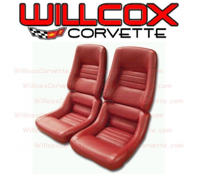 80 Chevy Truck >> 1979 1980 1981 1982 Corvette Leather Like Seat Covers Set Seat Cover | eBay