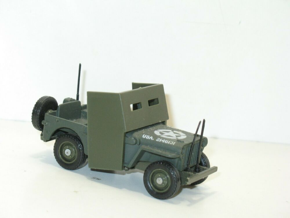 Solido Jeep Willys Blind 233 E Militaire Military Us Army 1