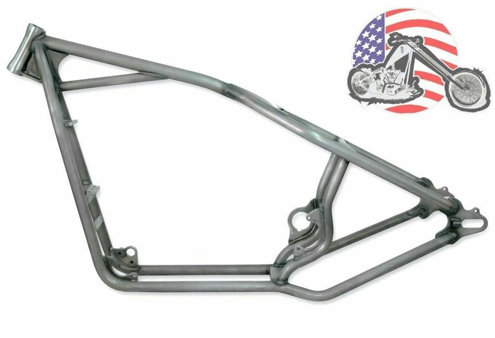 30/0/0 Kraft Tech Rigid Hardtail Frame 2004-2017 Harley Sportster ...