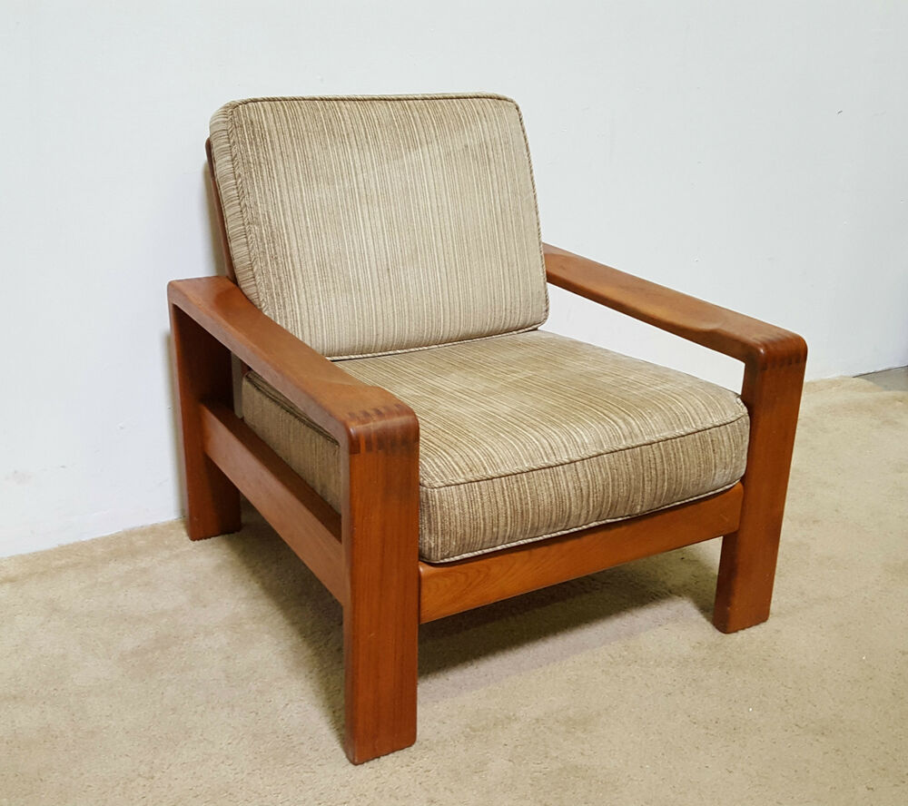 MCM Teak Lounge Chair (SHIPPING AVAILABLE)