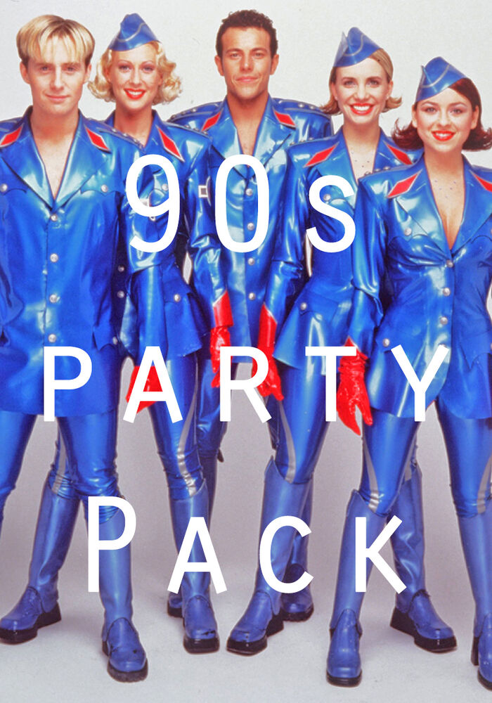 90s party decorations pack posters balloons bunting for Decoration 90s